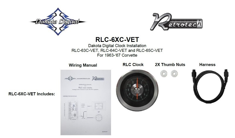 RLC-63C-VET Included Items