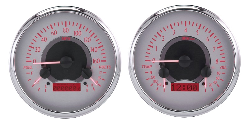 Digital Gauges For Trucks : Dakota digital chevy gmc truck analog dash gauges