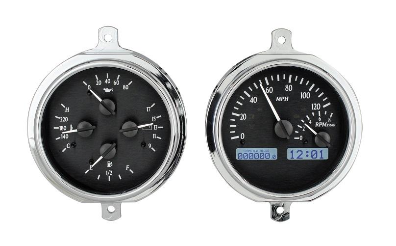 Digital Gauges For Trucks : Dakota digital ford pickup truck dash gauges system