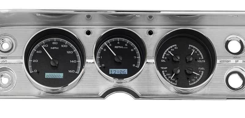 custom instrument panel for 1967 chevelle