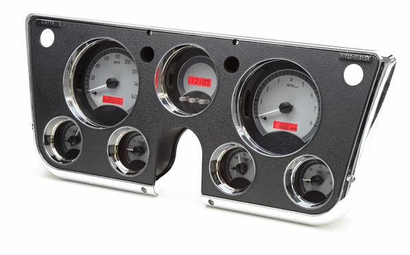 Dakota digital 67 68 69 70 71 72 chevy pickup vhx analog dash gauges
