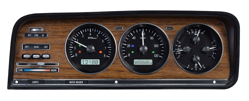 Jeep Digital Gauges : Dakota digital jeep wagoneer j trucks grand