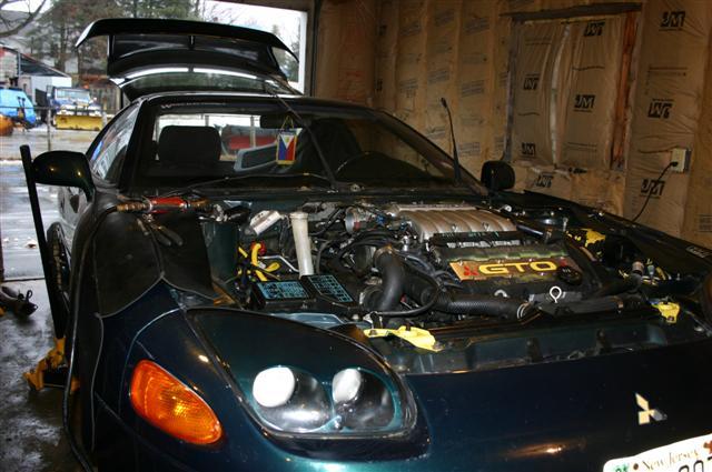 Phoenix Tuning - 3000GT VR4 Engine Swap