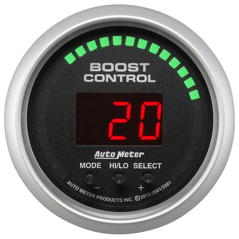 Auto Meter 3381 Sport Comp//Sport Comp II 2-1//16 Boost Control Gauge