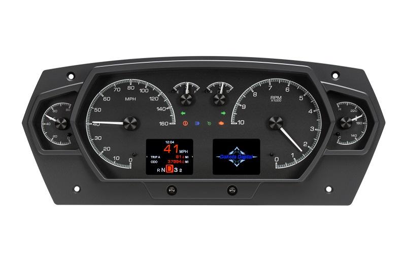 HDX-2200 Black Alloy Style Indicators On