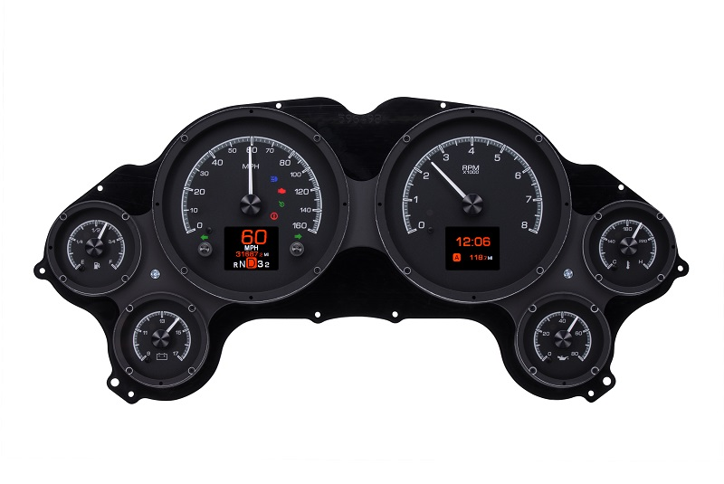 HDX-63C-VET-K with BLACK ALLOY style with Indicators On