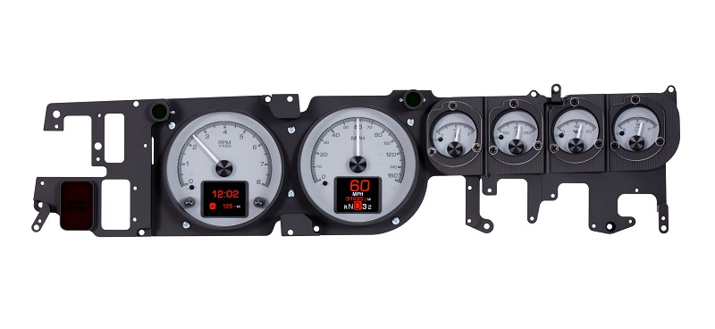 HDX-68D-CHG-S with SILVER ALLOY style dash