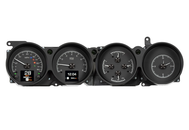 HDX-70D-CLG-K with BLACK ALLOY style with Indicators On