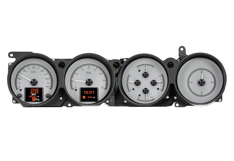 HDX-70D-CLG-S with SILVER ALLOY style dash, Fire and Ice Daytime View