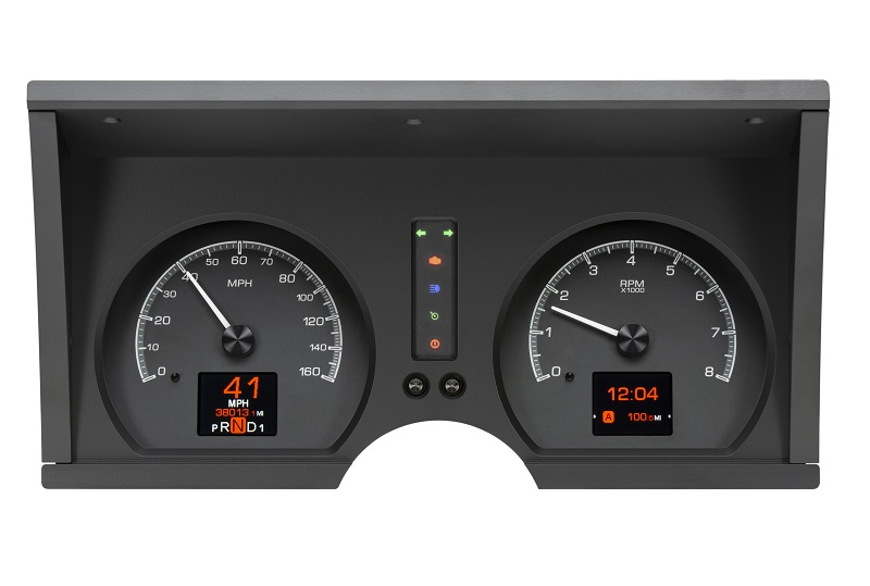 HDX-78C-VET-K with BLACK ALLOY style with Indicators On
