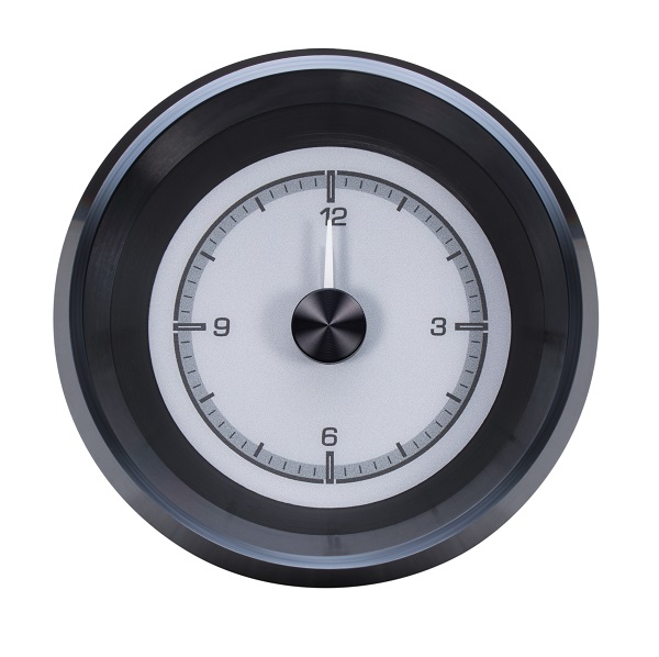 HLC-63C-VET-S Clock Gauge with SILVER ALLOY style