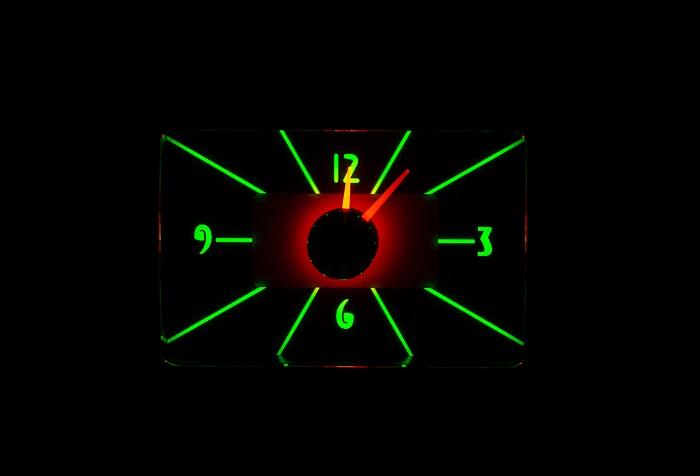 RLC-55C Clock Gauge Emerald Night View