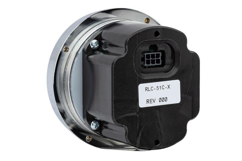 RLC-51C Clock Gauge Back of Unit View