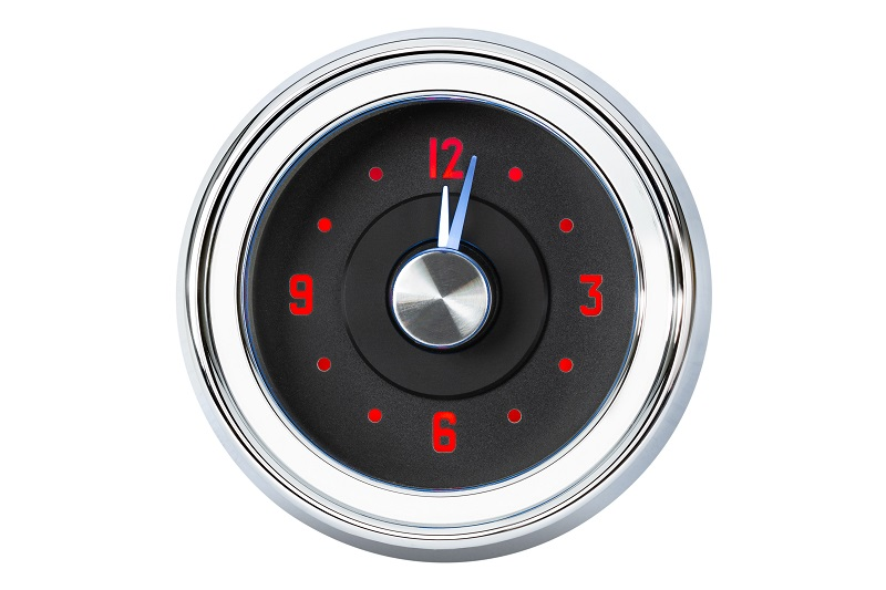 RLC-51C Clock Gauge Fire and Ice Theme