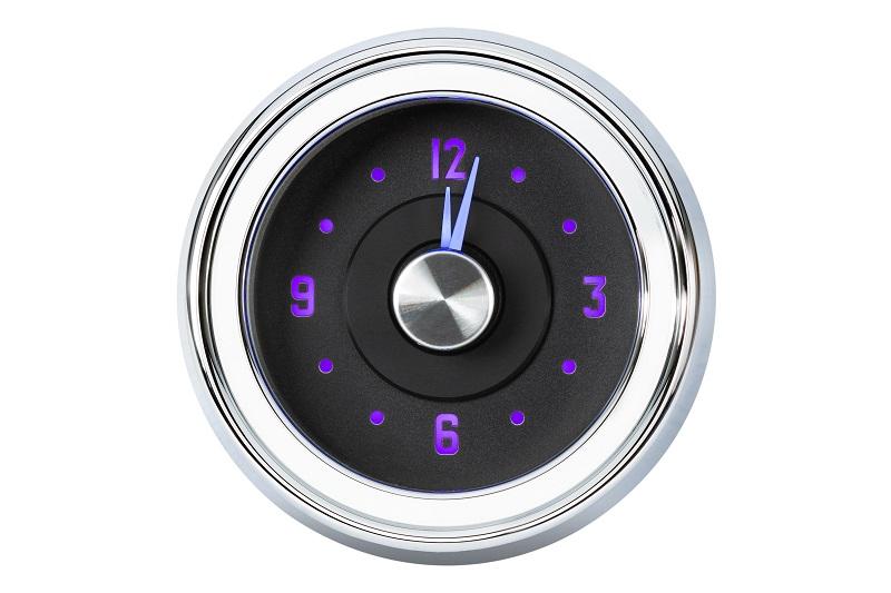 RLC-51C Clock Gauge Vivid Orchid Theme