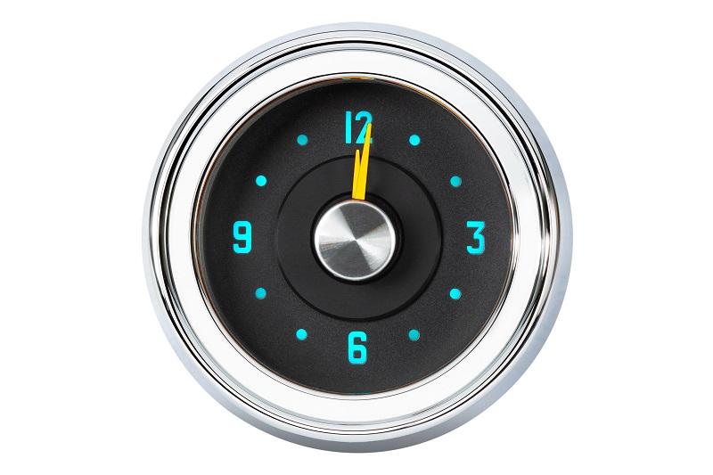 RLC-51C Clock Gauge Wild Aqua Theme