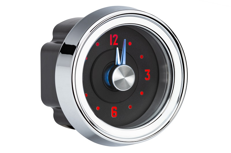 RLC-51C Clock Gauge Side View Fire and Ice Theme