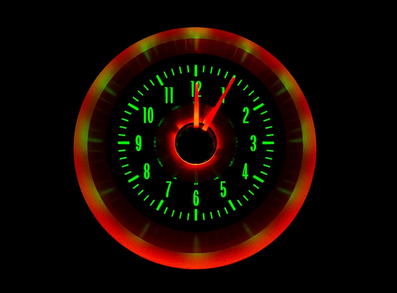RLC-63C-VET Clock Gauge Emerald Night View