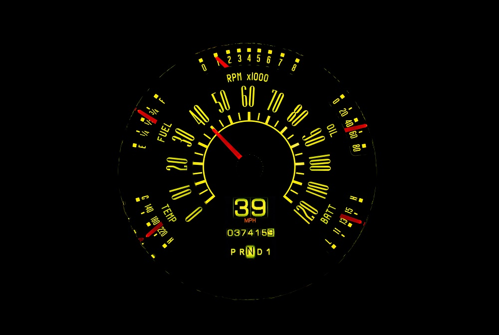 RTX-49F-X Yellow Flare Night View