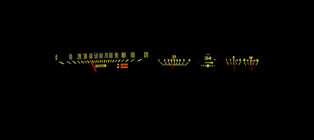 RTX-63C-IMP-X Yellow Flare Night