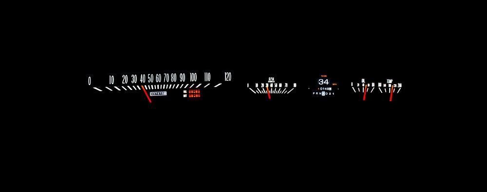 RTX-64C-IMP-X White Hot Night View