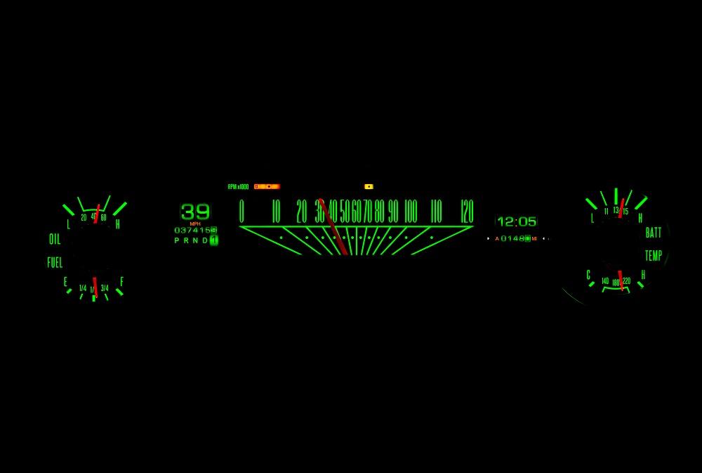 RTX-64F-FAL-X Emerald Night View
