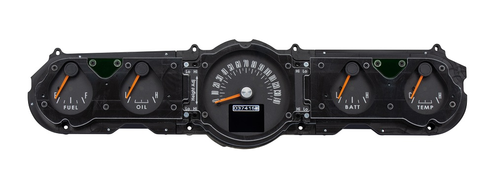 RTX-65F-MUS-X Entry Odometer View