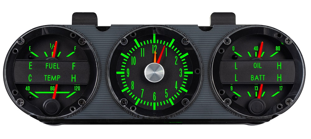 RTX-67C-CAC-X Emerald Day Console Gauges