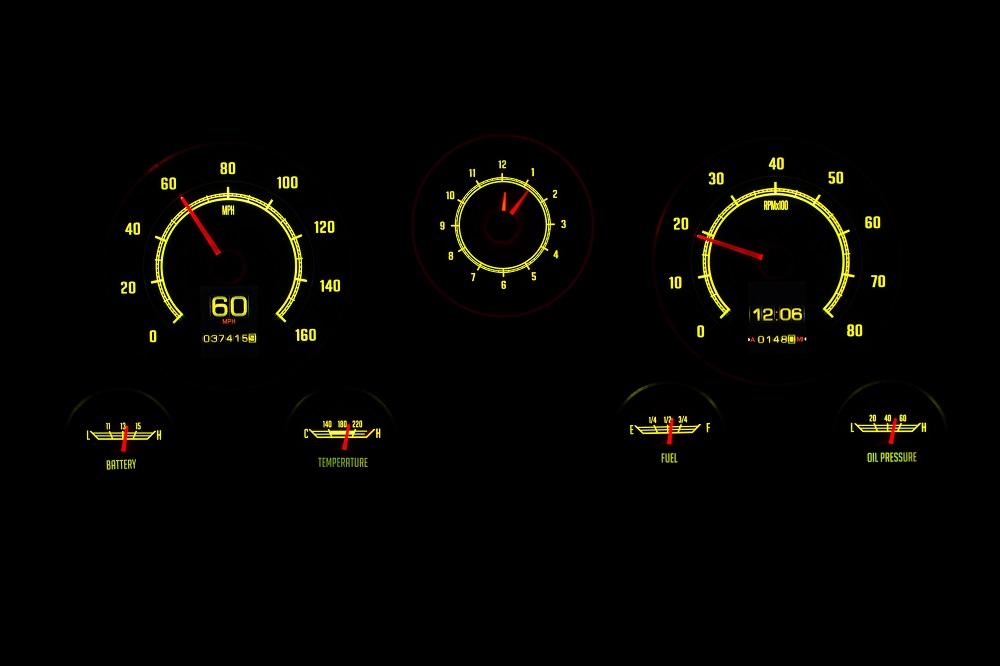 RTX-67C-PU-X Yellow Flare Night