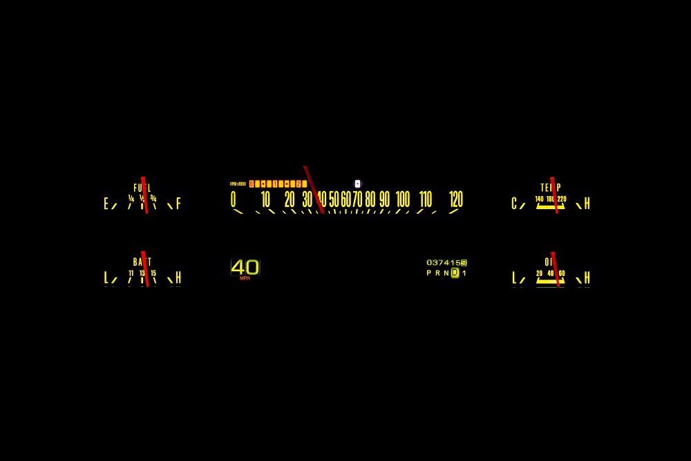 RTX-67F-PU Yellow Flare Night