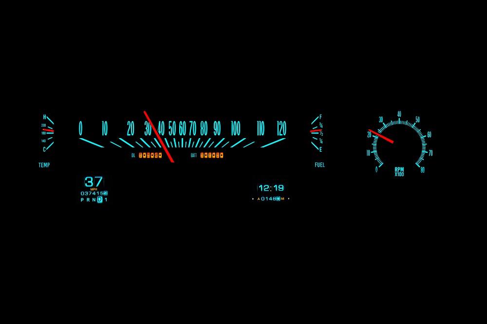 RTX-70C-MAL-X Wild Aqua Night View