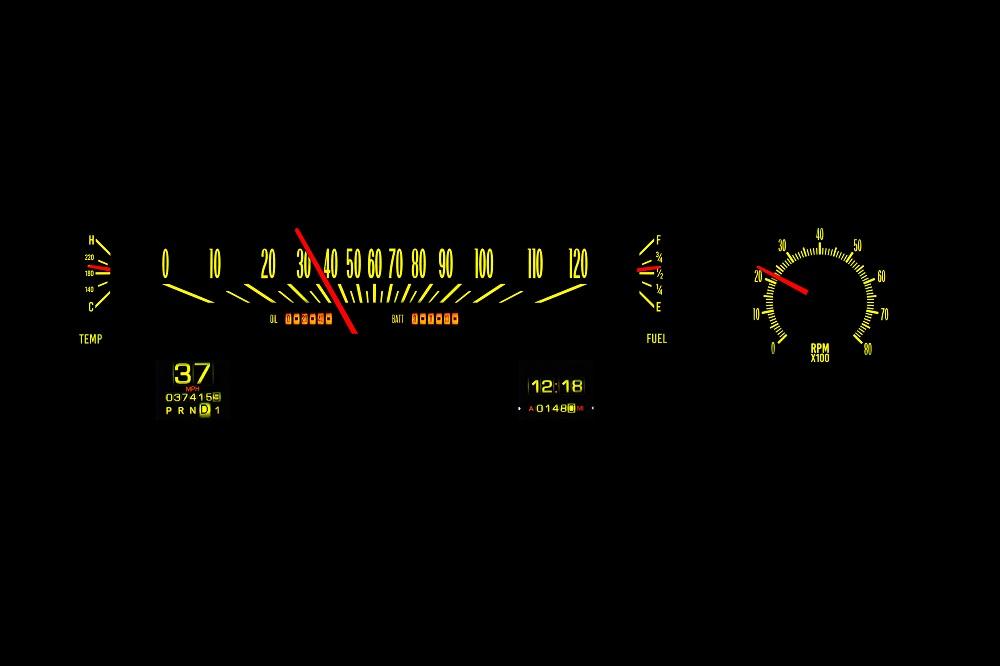 RTX-70C-MAL-X Yellow Flare Night View