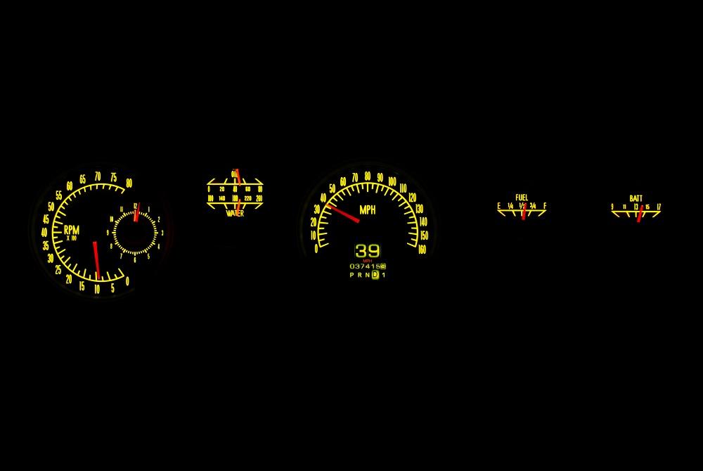 RTX-70P-FIR-X Yellow Flare Night
