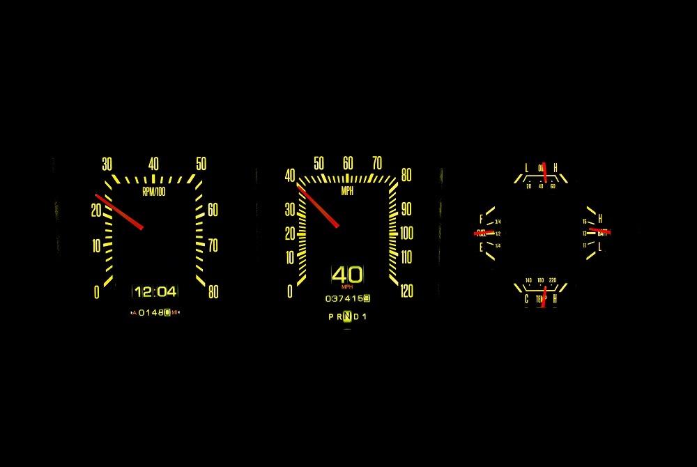RTX-73F-PU Yellow Flare Night
