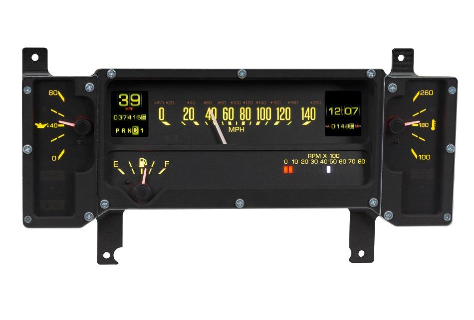 RTX-84B-REG Yellow Flare Day Kit View
