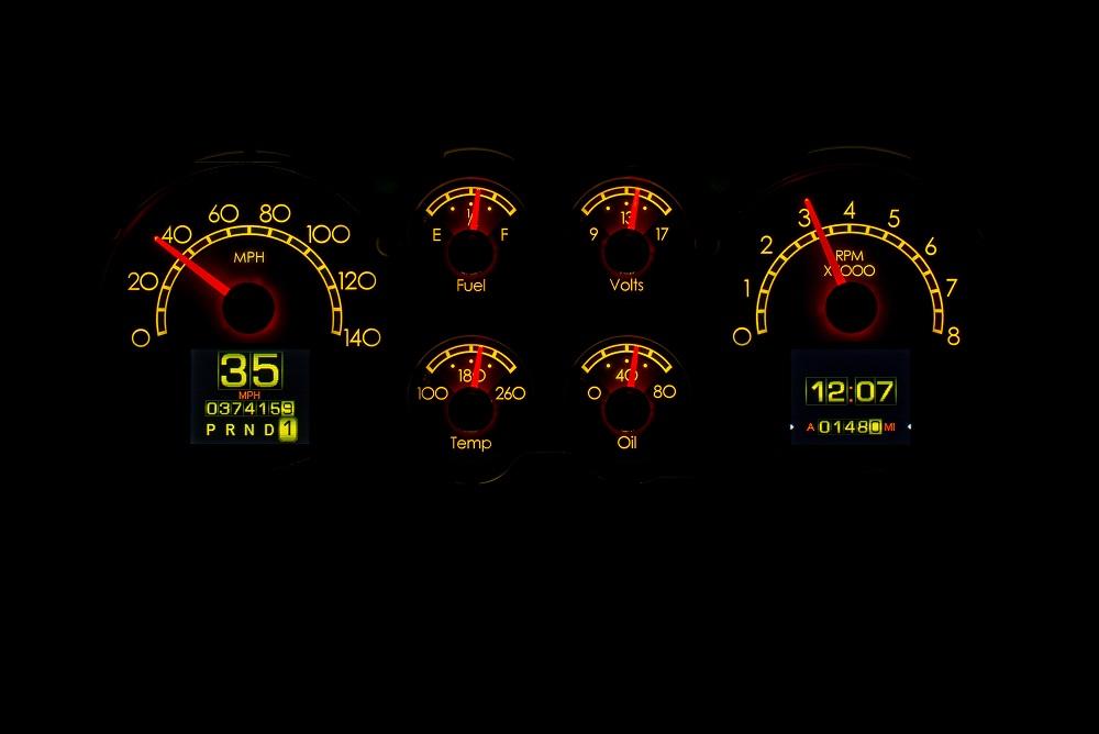 RTX-86C-MC-X Yellow Flare Night