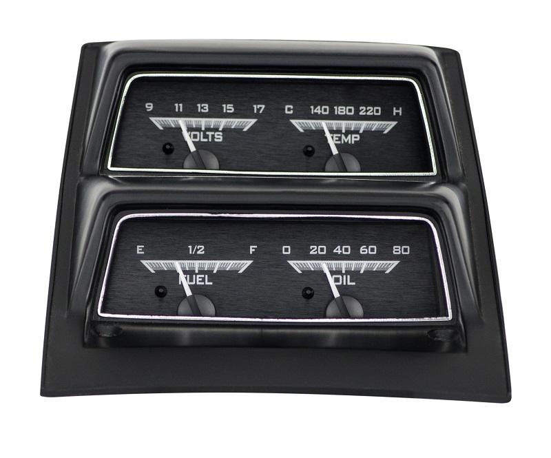 dakota digital 68 chevy camaro analog with console gauges system vhx 68c cac k w ebay. Black Bedroom Furniture Sets. Home Design Ideas