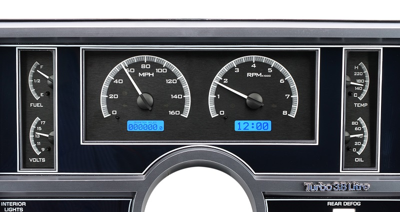 Now You Can Expand Your Buick Regal Dashboard Without Cutting It Up Six Og Instruments With Twin Message Centers Fill Out The Stock Instrument Housing