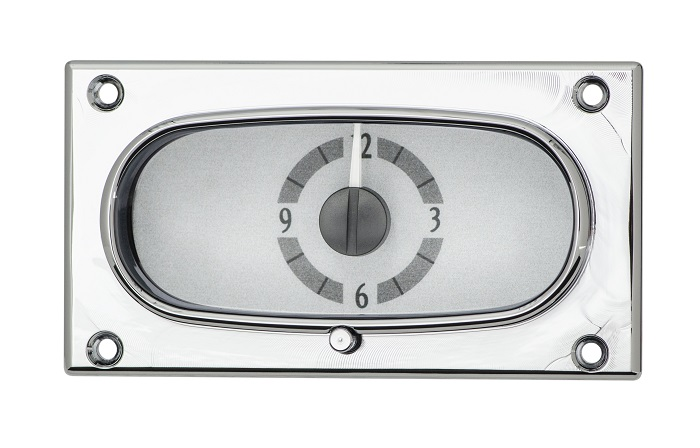 Details about Dakota Digital 58 Chevy Impala Analog Clock Gauge for VHX  kits only VLC-58C-IMP